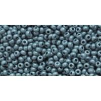Бисер Preciosa 10/0 №46035 Непрозрачный люстровый серо-голубой, 1 сорт (50 гр)