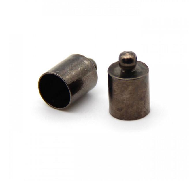 Колпачок-циллиндр, ВД 6мм, черный