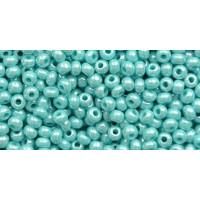 Бисер Preciosa 10/0 №68130 Непрозрачный люстровый бирюза, 2 сорт (50 гр)