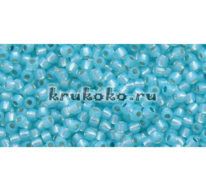 Бисер Toho 11/0 Внутреннее серебрение молочный вода (TR-11-2117)