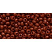 Бисер Preciosa 10/0 №13600 Непрозрачный коричневый, 1 сорт (50 гр)