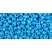 Бисер Preciosa 10/0 №16365 Непрозрачный алебастр голубой, 1 сорт (50 гр)