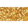 Бисер Preciosa 10/0 №17020 Внутреннее серебрение светлый топаз, 1 сорт (50 гр)