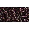 Бисер Preciosa 10/0 №27080H Внутреннее серебрение темный аметист, 1 сорт (50 гр)