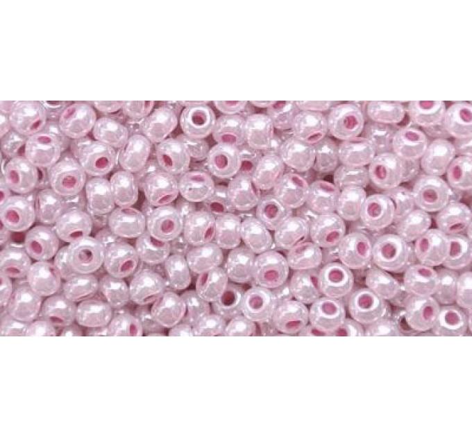 Бисер Preciosa 10/0 №37325 Непрозрачный перламутровый лиловый, 1 сорт (50 гр)