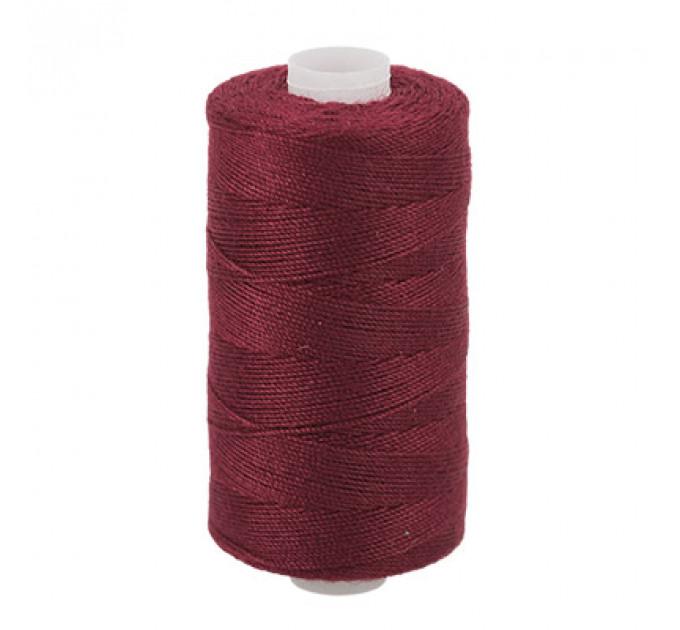 Micron Нить джинсовая 20s/3, №123 т.бордовый