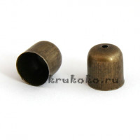 Колпачок-концевик, ВД 9мм, бронза