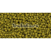Бисер Toho 11/0 Полуматовый оливковый