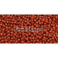 Бисер Toho 11/0 Полуматовый жженый оранжевый