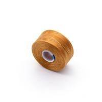 Нить для бисера S-lon AA, 69м, золотая (SLAA-GO)