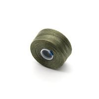 Нить для бисера S-lon AA, 69м, оливковая (SLAA-OL)