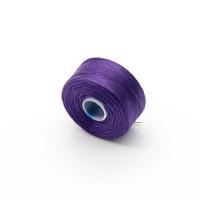 Нить для бисера S-lon AA, 69м, фиолетовая 67014 (SLAA-PU)