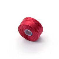 Нить для бисера S-lon AA, 69м, красная (SLAA-RD)