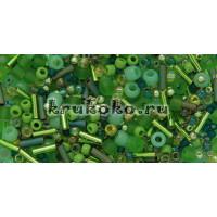 Бисер TOHO МИКС Wasabi Зеленый (TX-01-3221)