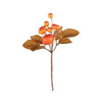 """""""Blumentag"""" Декоративные элементы - Веточка с ягодами и тыквой, 14 см"""
