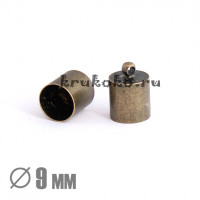 Колпачок-циллиндр, ВД 9мм, бронза