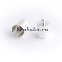Колпачок-циллиндр, ВД 11мм, серебро