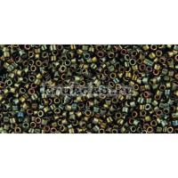Бисер Miyuki Delica 11/0 Металлизированный зеленый (DB0024)