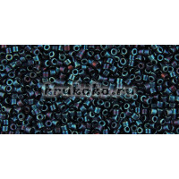 Бисер Miyuki Delica 11/0 Металлизированный синий (DB0025)