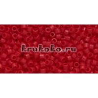 Бисер Miyuki Delica 11/0 Непрозрачный вишнево-красный (DB1140)