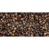 Бисер Miyuki Delica 11/0 Непрозрачный Пикассо коричневый (DB2267)
