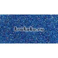 Бисер Toho 15/0 Окрашенный изнутри люстровый хрусталь + карибское море