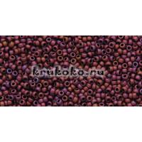 Бисер Toho 15/0 Матовый розово-лиловый кофе