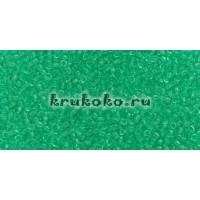 Бисер Toho 15/0 Прозрачный зеленое стекло
