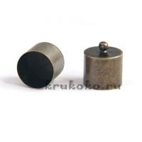 Колпачок-циллиндр, ВД 13мм, бронза