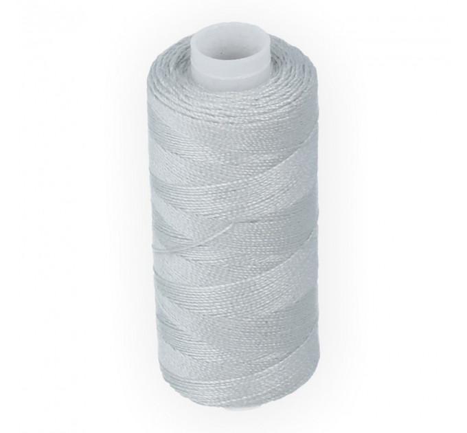 Micron Нить джинсовая 20s/2, №365 св.серая