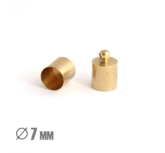 Колпачок-циллиндр, ВД 7мм, латунь