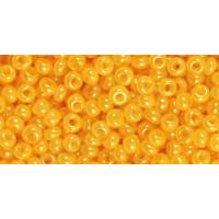 Бисер Preciosa 10/0 №17183 Непрозрачный алебастр желтый, 1 сорт (50 гр)