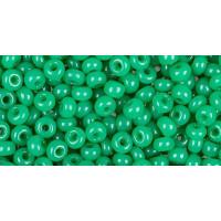 Бисер Preciosa 10/0 №52240 Полупрозрачный алебастр зеленый, 1 сорт (50 гр)