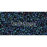 Бисер Miyuki Delica 11/0 Металлизированный синий ирис (DB0002)
