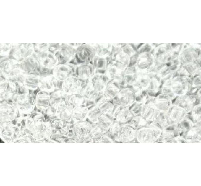 Бисер Preciosa 10/0 №00050 Прозрачный белый, 1 сорт (50 гр)