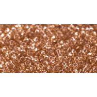 Бисер Preciosa 10/0 №01111 Прозрачный карамель, 1 сорт (50 гр)