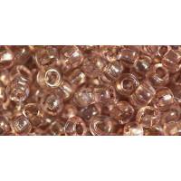 Бисер Preciosa 10/0 №01113 Прозрачный розовато-коричневый, 1 сорт (50 гр)