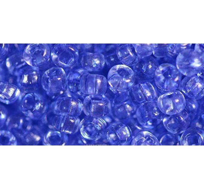 Бисер Preciosa 10/0 №01131 Прозрачный синий, 1 сорт (50 гр)