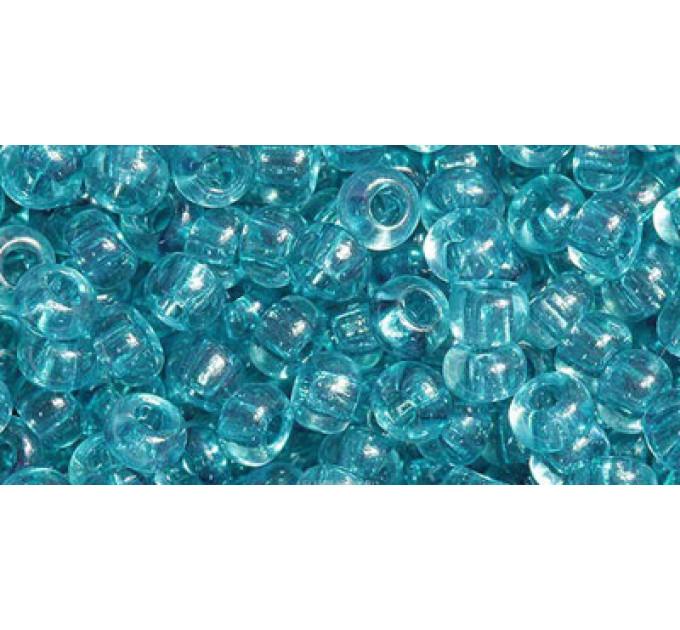 Бисер Preciosa 10/0 №01133 Прозрачный аквамарин, 1 сорт (50 гр)