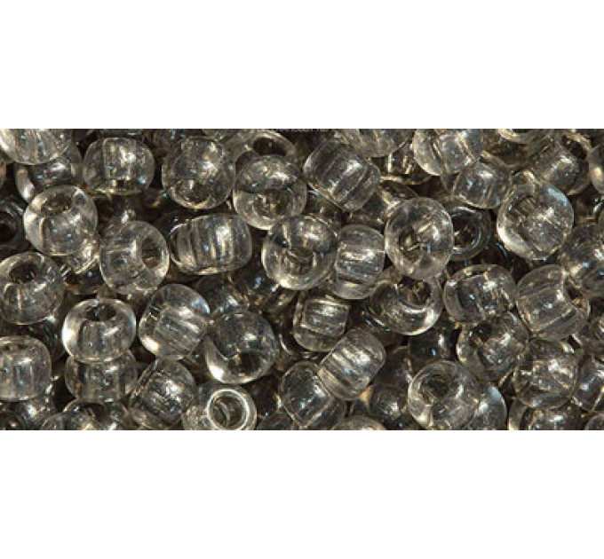 Бисер Preciosa 10/0 №01141 Прозрачный мокрый камень, 1 сорт (50 гр)