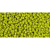 Бисер Preciosa 10/0 №53430  Непрозрачный оливковый, 1 сорт (50 гр)