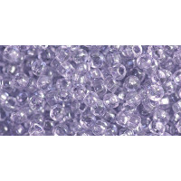 Бисер Preciosa 10/0 №01127 Прозрачный светло-сиреневый, 1 сорт (50 гр)