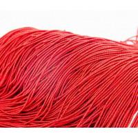 Канитель фигурная бамбук, 2 мм, красная (5 гр)
