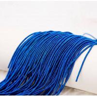 Канитель витая спираль, 2 мм, синяя (5 гр)