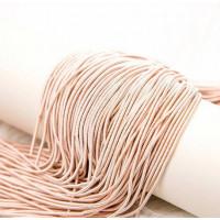 Канитель витая спираль, 2 мм,  розовое золото (5 гр)