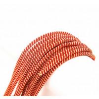 Канитель витая спираль, 3 мм, красно-золотистая, (5 гр)