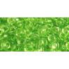 Бисер Preciosa 10/0 №01154 Прозрачный  салатовый, 1 сорт (50 гр)