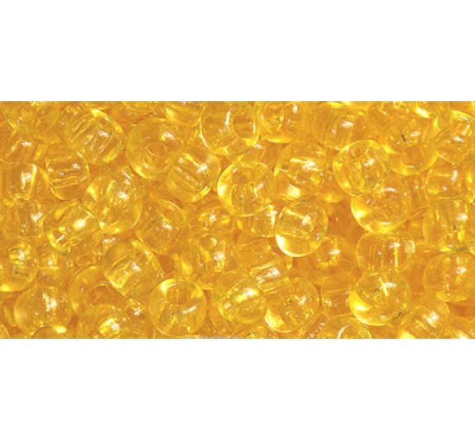 Бисер Preciosa 10/0 №01181 Прозрачный медовый, 1 сорт (50 гр)