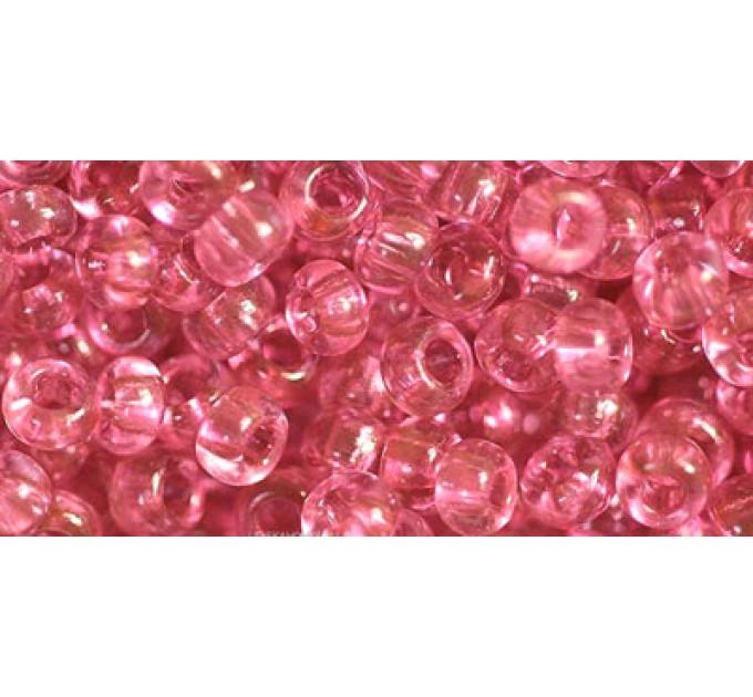 Бисер Preciosa 10/0 №01193 Прозрачный розовый персик, 1 сорт (50 гр)