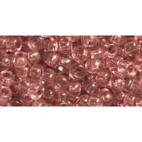 Бисер Preciosa 10/0 №01194 Прозрачный королевский розовый , 1 сорт (50 гр)